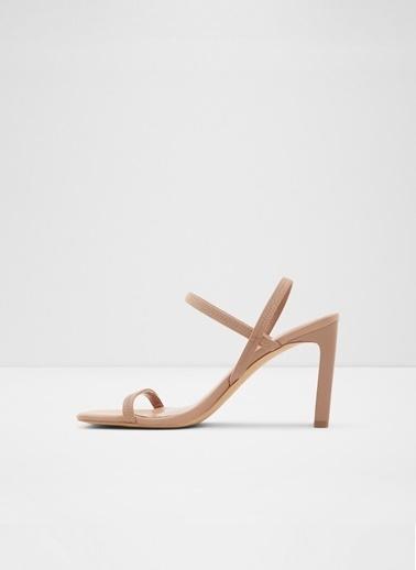 Aldo Okurr - Bej Kadin Topuklu Sandalet Ten